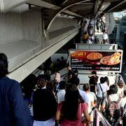 BTS-Stationen Ausgang