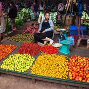 Laotischer Markt