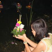 Thailändische Lichterfest