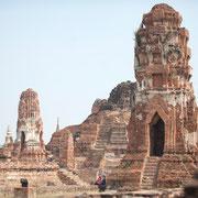 Historische Tempel-Ruinen