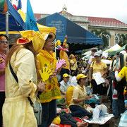 frühere Unruhen in Bangkok