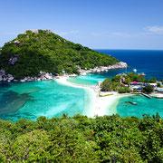 Ko Nang Yuan - Kleines Inselparadies unweit von Koh Tao.