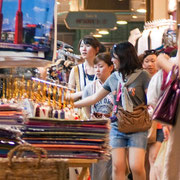 Shopping-Paradies Bangkok! Hier der Asiatique The Riverfront Market.