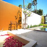 Tropical Villa mit Meerblick