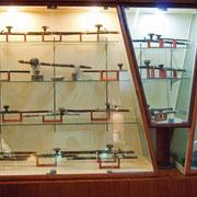 Pfeifen im Opiummuseum