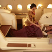 Firstclass (Royal First) im A380 der Thai Airways international