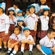 Schulklasse im Isaan