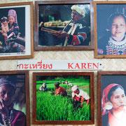 Photographien im Opiummuseum
