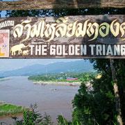 Das Goldene Dreieck in Nordthailand