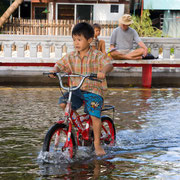 Bangkok - Oktober 2011 Überschwemmungen