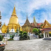 Wat Phra Keo Tempel des smaragd-buddha