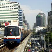 BTS Skytrain, MRT U-Bahn und dem Airportlink