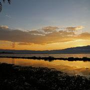 Sonnenuntergang am Phayao Lake