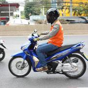 Mopedtaxi in Bangkok