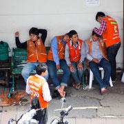 Motorrad-Taxi in Bangkok