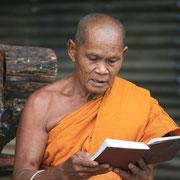 Buddhistische Mönche treffen