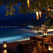 Romantischer Abend auf Koh Phangan.