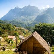 Ein Dorf in Chiang Dao