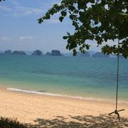 Strand vor dem Island Resort auf Koh Yao Noi.