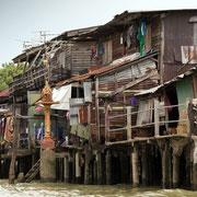 Shanty haus in Bangkok