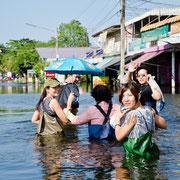 Nakhon Pathom Überschwemmung