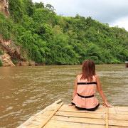 Natur genießen am River Kwai