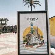 in Torre del Mar Andalusien