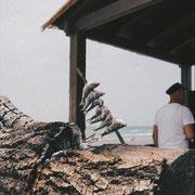 an der Strand Promenade in Torrox Costa