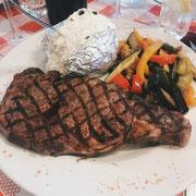 Essen im Pepe Rico in Torrox Costa