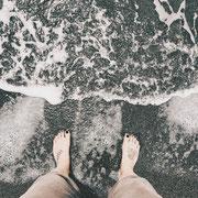 Strand in Torrox Costa