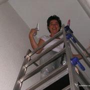 peinture en hauteur