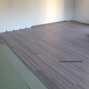 sous couche fibre de bois et stratifié