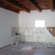 cuisine après démolition