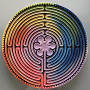 labyrinthe de chartres par Olivier