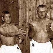 Тренировки с Шимабукуро Юкинобу Сэнсэем