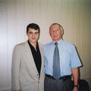 С профессором РГУФКСиТ (ГЦОЛИФК) ИГУМЕНОВЫМ Виктором Михайловичем - 5-ти кратным чемпионом мира по Греко-римской борьбе.