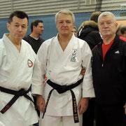 После тренировки. Со Штурминым Алексеем Борисовичем и Касьяновым Тадеушем Рафаиловичем