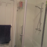 Sydney Outdated Bathroom Reno After Photo With Square Pivot Door Shower Screen