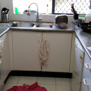 Old kitchen renovation in Rydalmere