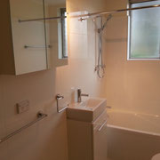 West Ryde Bathroom Renovations After With Mini Vanity