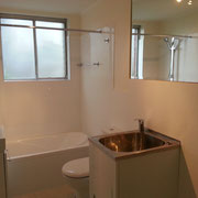 West Ryde Bathroom Renovation After With Laundry Tub