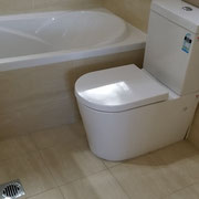 West Ryde Bathroom Renovation With Soft Close Toilet