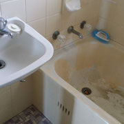 West Ryde Old Bathroom Renovation Before Photo