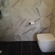 Redfern Bathroom Renovations After With BACK TO WALL SKEW PAN TOILET SUITE