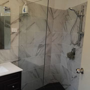 Redfern Bathroom Renovation After With Frameless Shower Screen