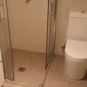 Wahroonga Bathroom Renovation With Close Coupled Back to Wall Toilet Suites