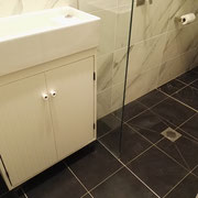 Redfern New Bathroom Renovations After Photo With Beautiful Floor Tiling