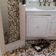 Freshwater bathroom renovation before