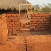 Das Haus in Afrika entsteht