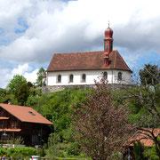 Auch die Karl-Borromäus-Kirche besuchten wir.